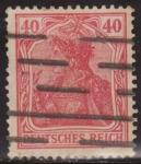 Sellos del Mundo : Europa : Alemania : Alemania 1902 Scott 72 Sello º Alegoría Germania 5 Pfennig Deutsches Reich Allemagne Duitsland
