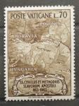 Sellos de Europa - Vaticano -  XI CENTENARIO DEL APOSTOLADO DE SAN CIRILO Y SAN METODIO
