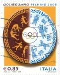 Sellos del Mundo : Europa : Italia : Giochi olimpici-pechi