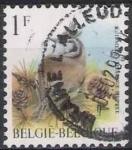 Sellos del Mundo : Europa : Bélgica : Belgica 1998 Scott 1696 Sello º Aves Oiseaux Mesange Huppee 1fr Belgique Belgium