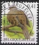 Sellos del Mundo : Europa : Bélgica : Belgica 2002 Scott 1913b Sello º Aves Oiseaux Tourterelle Turque 0,41€ Belgique Belgium