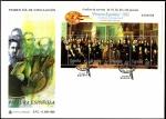 Sellos de Europa - España -  Pintura Española - Los Poetas contemporáneos - Antonio María Esquivel HB - SPD