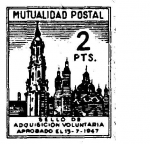 Sellos del Mundo : Europa : España : MUTUALIDAD POSTAL (15)