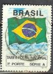 Sellos del Mundo : America : Brasil : Tarifa Postal Nacional