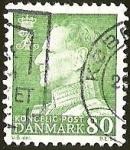 Sellos del Mundo : Europa : Dinamarca : FEDERICO IX DE DINAMARCA