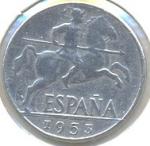 Sellos de Europa - España -  LA PERRA GORDA DE FRANCO