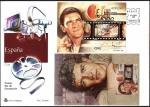 Sellos de Europa - España -  Exposición Mundial de Filatelia España 2000 - Cine: Antonio Banderas - SPD