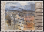 Sellos del Mundo : Europa : Reino_Unido : Gran Bretaña 1970 Scott 648 Sello º Pintura Carretera de Montaña de T.P. Flanagan Grande Bretagne Gr