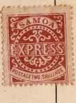 Sellos del Mundo : Oceania : Samoa_Occidental : Edicion de 1877