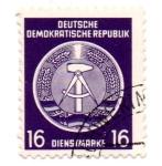 Sellos del Mundo : Europa : Alemania : 1954-TIMBRES de SERVICIOS-1956(FILI:P)
