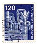 Sellos del Mundo : Europa : Alemania : 1975-1976-CHIMENEAS