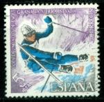 Sellos del Mundo : Europa : España : Copa del Mundo de Esquí