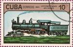 Sellos del Mundo : America : Cuba : Locomotoras Antiguas. IV