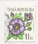 Sellos del Mundo : Europa : República_Checa : Flores (Marshmallow)
