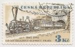 Sellos del Mundo : Europa : República_Checa : 150° Aniversario Ferrocarril