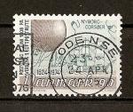 Sellos de Europa - Dinamarca -  Aniversario del correo Danes.