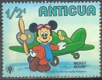 Sellos del Mundo : America : Antigua_y_Barbuda : Mickey Mouse