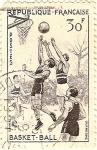 Sellos de Europa - Francia -  Basket-ball