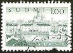 Sellos del Mundo : Europa : Finlandia : FINLAND - SUOMI - PAISAJE