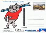 Sellos del Mundo : Europa : España :  ENTERO POSTAL TURISMO 94. SIERRA NEVADA'95, GRANADA.