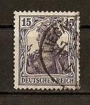 Sellos del Mundo : Europa : Alemania : Imperio / Deutsches Reich./ Fondo Blanco.
