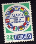 Sellos de America - Uruguay -  A.L.A.L.C.