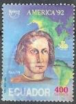 Sellos del Mundo : America : Ecuador : America y Colon