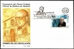 Sellos del Mundo : Europa : España :  Centenario del Ilustre Colegio Oficial de Médicos de Madrid - SPD