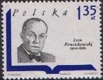 Sellos de Europa - Polonia -  ESCRITORES POLACOS. LEON KRUCZKOWSKI