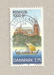 Sellos de Europa - Dinamarca -  1000 Aniv. Castillo de Roskilde