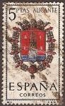 Sellos de Europa - España -  Nº3.Alicante (Escudo)