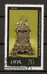 Sellos de Europa - Alemania -  DDR - Relojes Antiguos.