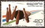 Sellos de Europa - España -  Juego de bolos