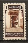 Sellos de Africa - Marruecos -  Tipos Diversos.