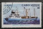 Sellos del Mundo : Africa : Cabo_Verde : FLOTA MERCANTE, SANTO ANTAO
