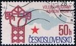 Sellos de Europa - Checoslovaquia -  Scott  2602  Frente Natl elecion del programa