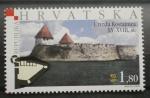 Sellos del Mundo : Europa : Croacia : CASTILLO UTVRDA KOSTAJNICA SIGLO XV - XVIII