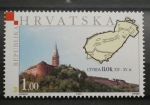 Sellos del Mundo : Europa : Croacia : CASTILLO ILOK SIGLO XIV - XV