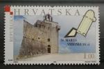 Sellos del Mundo : Europa : Croacia : CASTILLO SV. MARIJA VRBOSKA SIGLO XVI