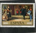 Sellos de Europa - España -  2207- PRESENTACION DE D.J. DE AUSTRIA A CARLOS I