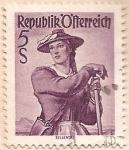 Sellos de Oceania - Australia -  Republik  Ofterreich