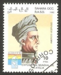 Sellos de Africa - Marruecos -  Sahara Occ. - Americo Vespucio