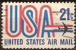 Sellos de America - Estados Unidos -  United States Air Mail
