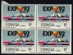 Sellos de Europa - España -  Exposición Universal de Sevilla - Expo 92