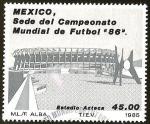 Sellos del Mundo : America : México : SEDE CAMPEONATO MUNDIAL DE FUTBOL