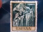 Sellos de Europa - España -  SAN PEDRO Y SAN PABLO - ISERTI