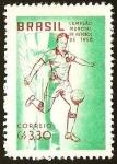 Sellos del Mundo : America : Brasil : CAMPEONATO MUNDIAL DE FUTBOL SUECIA 1958