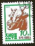 Sellos del Mundo : Asia : Corea_del_norte : BULL - FAUNA