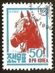 Sellos del Mundo : Asia : Corea_del_norte : CABALLO - FAUNA