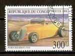Sellos del Mundo : Africa : República_del_Congo : Ford Highboy.